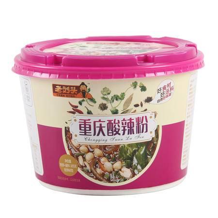 老刘头方便速食汤重庆酸辣粉米线12桶*105g
