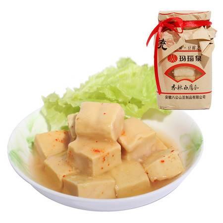 八公山玛瑙泉香辣白豆腐乳  280克瓶 装安徽淮南特产泉水酿造
