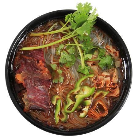 淮南特产老刘头淮南牛肉汤方便速食粉丝汤95g*24袋香辣味整箱