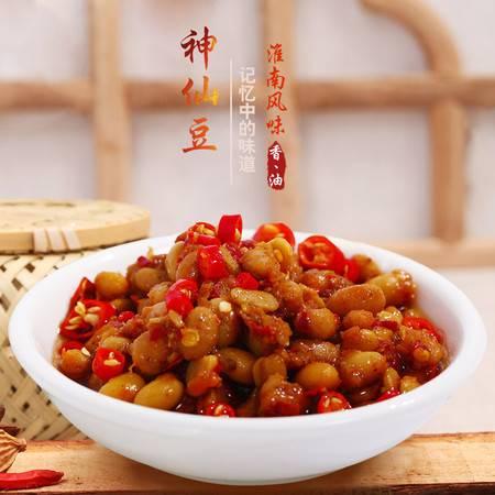 安徽焦岗湖神仙豆臭豆子渔家风味纳豆黄豆酱下饭小菜201g*4瓶