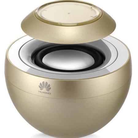 华为(HUAWEI)小天鹅无线蓝牙免提通话音箱4.0 便携户外车载迷你音响 香槟金