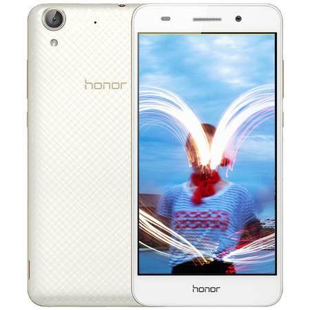 华为 荣耀 畅玩5A 4G手机 双卡双待 白色 全网通(2G RAM+16G ROM)标配