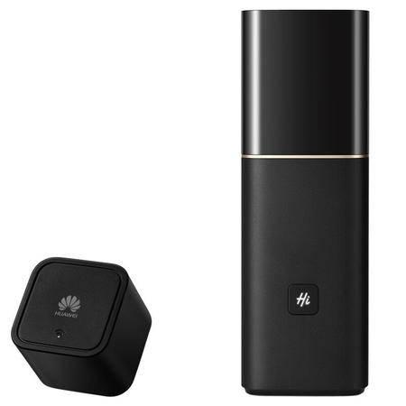 华为(HUAWEI)路由器Q1子母路由/双WiFi覆盖/穿墙稳定/智能家居/网络安全无线路由器 黑色