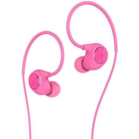 乐视(Letv)乐视原装 反戴式入耳耳机 手机线控耳机 粉色