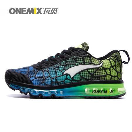 ONEMIX/玩觅 运动鞋女春季跑步鞋全掌气垫鞋男情侣韩版气垫鞋旅游鞋