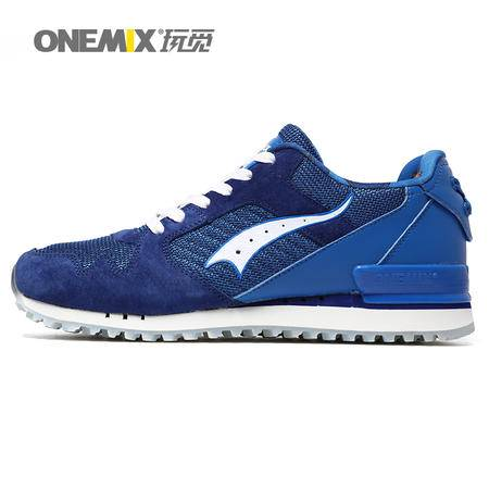 ONEMIX/玩觅 休闲运动鞋男春夏新品轻便慢跑鞋女时尚复古跑步鞋男