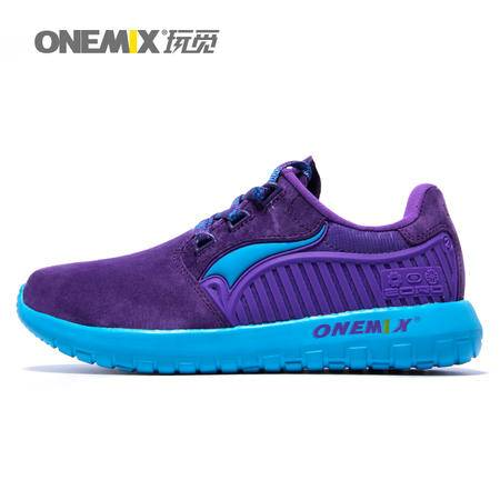 ONEMIX/玩觅 情侣跑步鞋男春夏新款复古跑鞋男士旅游运动鞋慢跑鞋