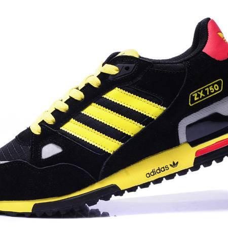 阿迪达斯adidas男女鞋三叶草休闲板鞋时尚旅游鞋情侣跑步鞋 V145352