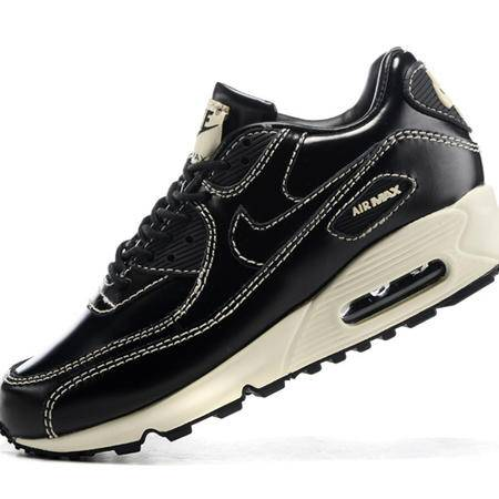 NIKE耐克男女鞋 air max90皮面情侣跑步鞋运动鞋休闲板鞋
