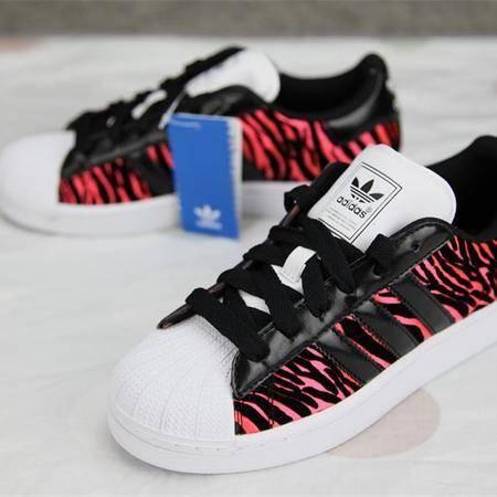 adidas阿迪达斯 三叶草SUEPRSTAR II 贝壳头斑马纹男女鞋休闲板鞋范冰冰Q23592