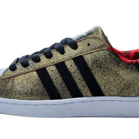 Adidas阿迪达斯三叶草运动鞋阿迪男女鞋休闲板鞋情侣鞋D65600