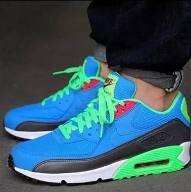 Nike耐克男鞋 Max 90气垫跑步运动鞋休闲板鞋537384-404