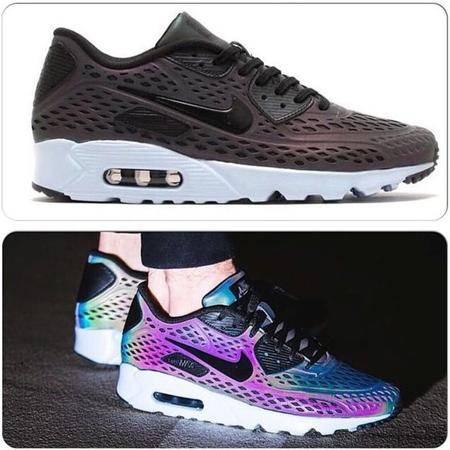 nike耐克 男女鞋AIR MAX 87 3M反光彩虹运动休闲跑步鞋情侣鞋777427-200