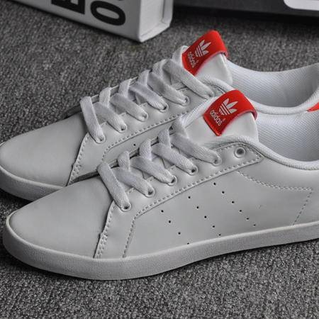 adidas 阿迪达斯三叶草女鞋新款范冰冰亲着贝壳头板鞋运动休闲鞋