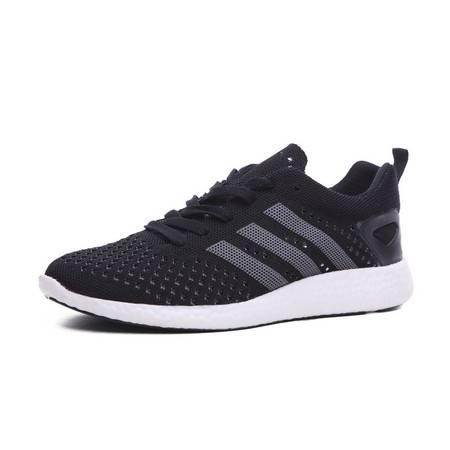 Adidas阿迪达斯清凉夏日透气跑步鞋男鞋运动休闲鞋