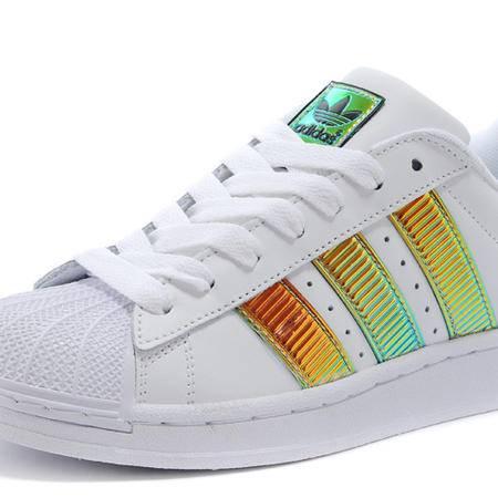 Adidas阿迪达斯三叶草陈奕迅演绎全新四大金刚贝壳头男女鞋休闲运动板鞋D65614