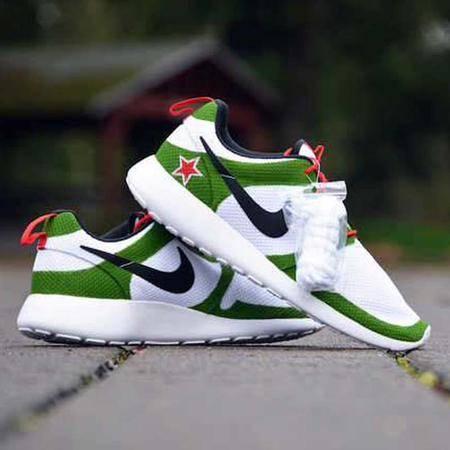 Nike耐克男鞋跑鞋透气旅游鞋 Roshe Run女鞋伦敦小喜力奥运跑步鞋子