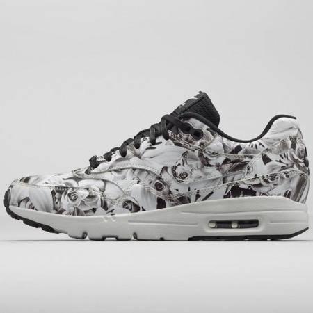 Nike耐克 Air Max 1 限量城市花卉运动休闲跑步鞋 女鞋747105-600