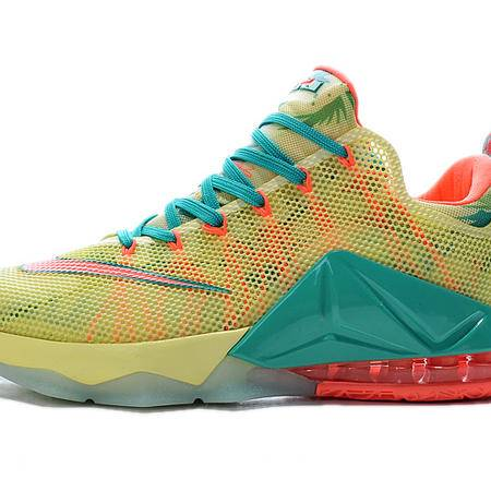 nike耐克詹姆斯12代男子战靴夏季网布透气低帮篮球鞋