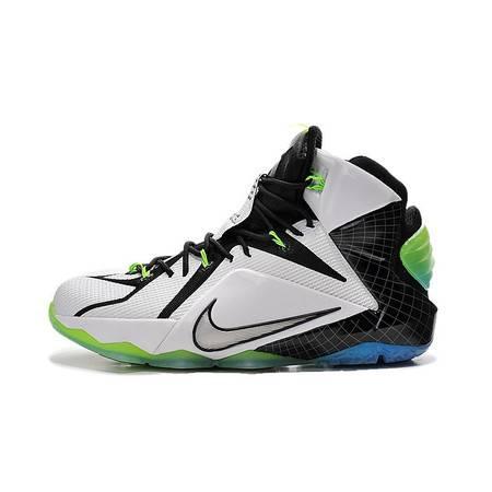 nike耐克LBJ12 詹姆斯12代圣诞篮球鞋全明星 744917-190