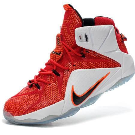 NiKe耐克新款男鞋LBJ战靴詹姆斯12代专业篮球鞋