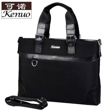 可诺2013新款潮男包 尼龙布 时尚手提包 单肩包 商务公文包 789-1