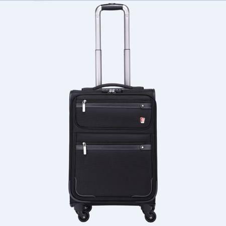 阿兰德龙ALAIN DELON  商务拉杆登机箱 AD1305-1BJA(20寸)