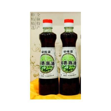 梅花垄  纯质麻油  350mlx2