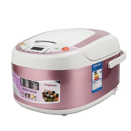 龙的(Longde)LD-FS520 智能釜电饭煲5L 黄晶不粘内胆电饭锅 煮饭煮粥