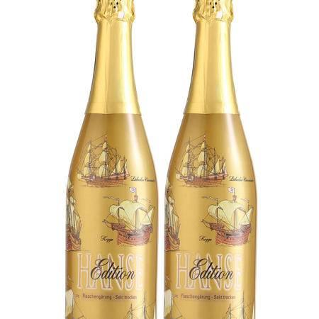 【金质日耳曼】法国金汉斯 汽酒2支特惠装