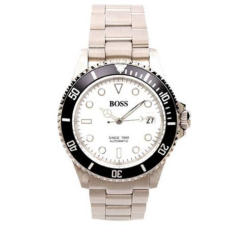 BOSS经典系列男士钢带机械宝石腕表BA032