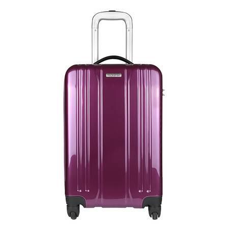 美国旅行者万向轮超轻拉杆箱20英寸661*50004-紫色