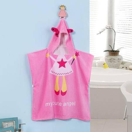 cozzy蔻姿kids蔻姿全棉儿童个性浴袍--粉色天使6957533213220