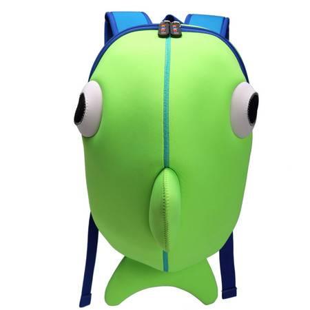 卡卡希小鲸鱼儿童书包 KK010大号、小号;红、蓝、绿