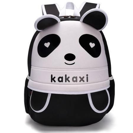 卡卡希小熊猫儿童书包KK013红、蓝、黑、粉