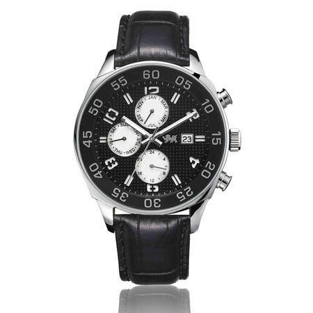 尼诺里拉 瑞士机芯表多功能运动夜光指针商务男士手表51004.021.02