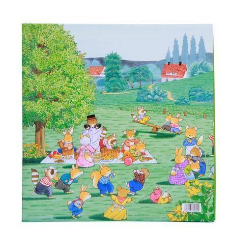NCL日本原装进口相册儿童婴儿影集LF-315-1欢乐小熊绿色