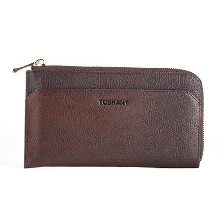 托斯卡尼TOSKANY 拉链包TL66225 咖啡色