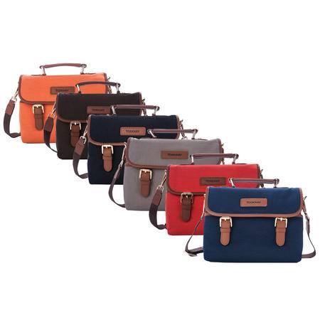托斯卡尼TOSKANY 挎包TL66163 黑色、啡色、蓝色、灰色、橘柚色、橙色可选
