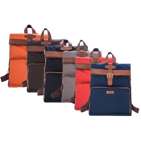 托斯卡尼TOSKANY 双肩背包TL66191 黑色、啡色、蓝色、灰色、橘柚色、橙色可选