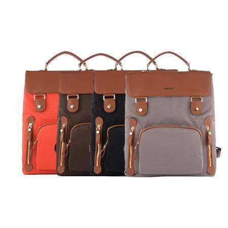 托斯卡尼TOSKANY 双肩背包TL66140 黑色、啡色、蓝色、灰色、橘柚色、橙色可选