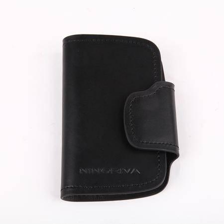 NINORIVA 尼诺里拉 黑色 牛皮革锁包 NR60320-4