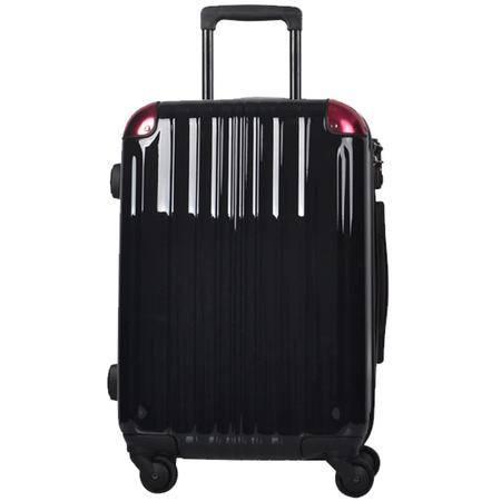 美而美四轮拉杆箱19英寸MZ-1010-黑红、黑紫、银红