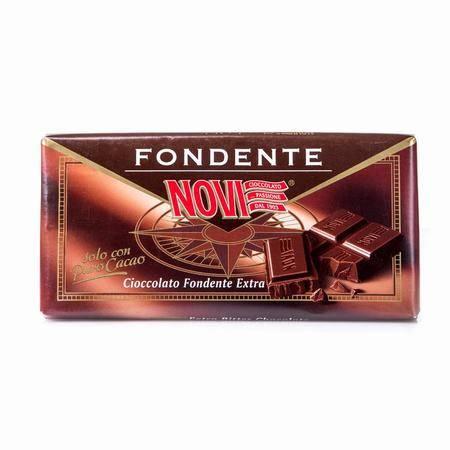 诺维特浓黑巧克力 意大利进口 100g 两块装