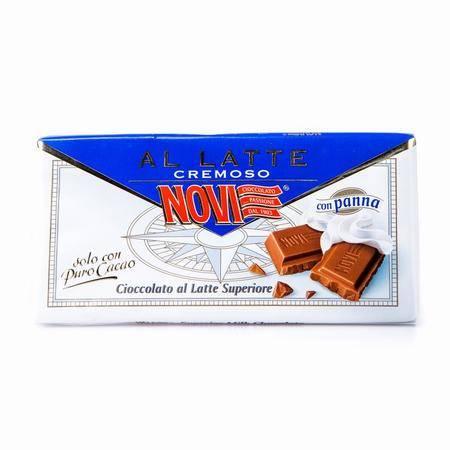 诺维优质牛奶巧克力 意大利进口 100g 两块装