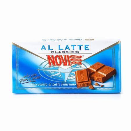 诺维特浓牛奶巧克力 意大利进口 100g 两块装