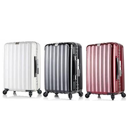 美而美 22寸 靓丽窄框镜面拉杆箱 MF-6201 黑色、红色、白色任选
