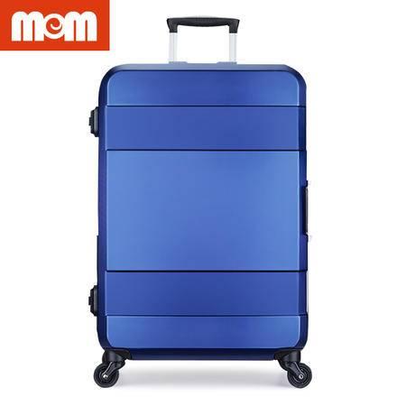 美而美 24寸 耐磨静音智能拉杆箱 MF-5019 蓝色