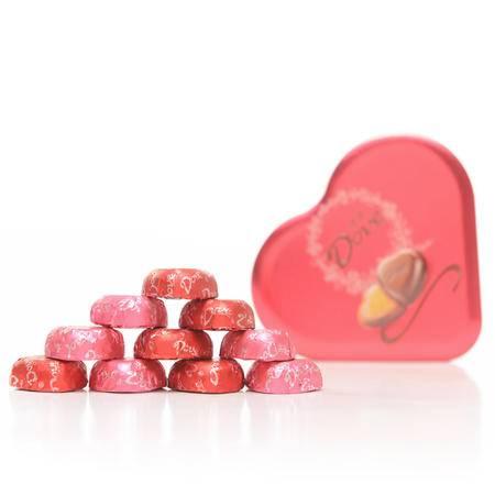 德芙女神姐妹款喜糖巧克力53g*2礼盒装