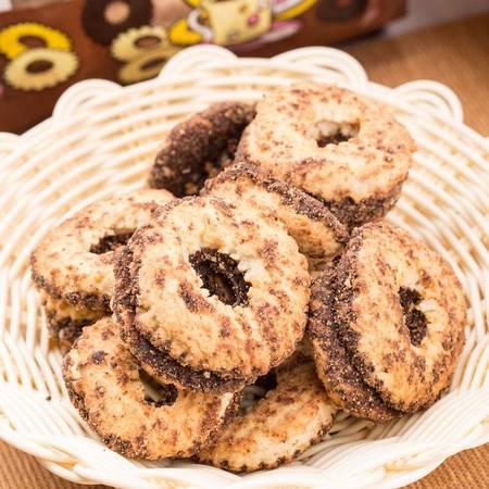 芬奇 香草味茶歇饼干、可可糖衣香草味茶歇饼干400g(两盒装)